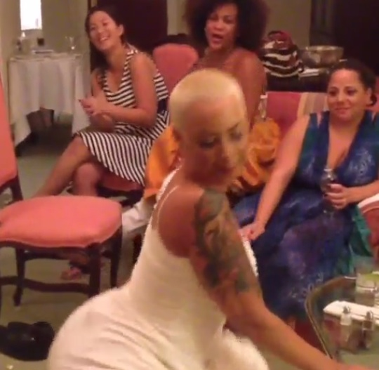 amber rose twirks-wedding-b-the jasmine brand