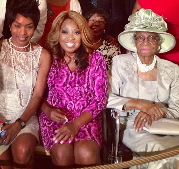 [Photos] Star Jones Takes Her Granny To the White House
