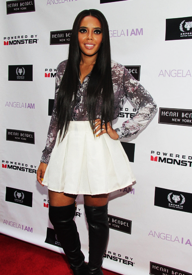 [Photos] Angela Simmons Launches New Website + Love & Hip Hop's Tahiry Jose And Ariene Davis Spotted