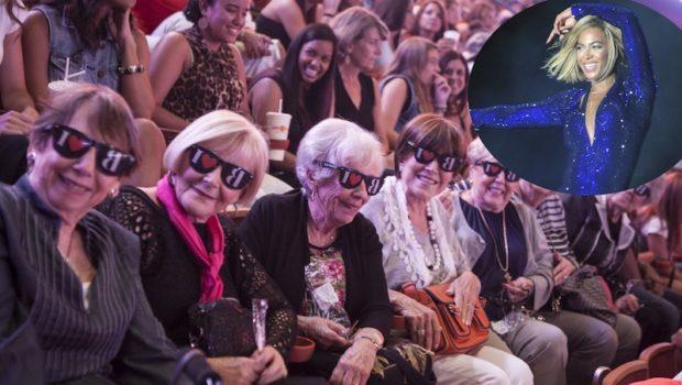 [Photos] Beyonce Brings New Bob, New Clothes & Senior Citizens to V Festival