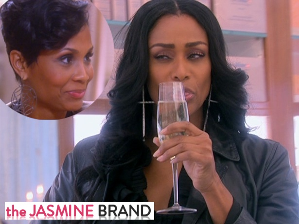 [VIDEO] Tami Roman Defends Bringing Up Infidelities of Tasha Marbury's Hubby + WATCH Basketball Wives Episode 2