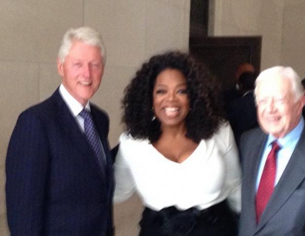 bill clinton-oprah-50th anniversary march on washington 2013-the jasmine brand