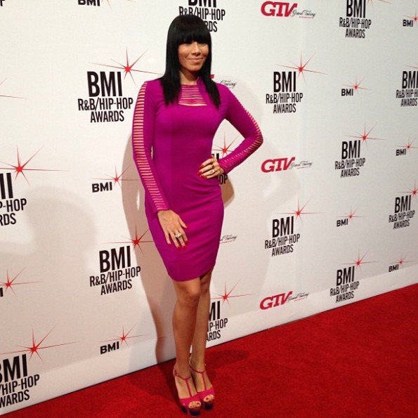 bridget kelly-bmi hip hop awards 2013-red carpet-the jasmine brand