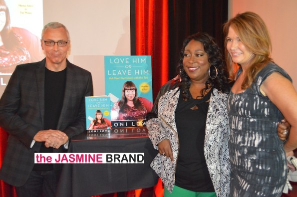 dr drew-loni love book party-the jasmine brand