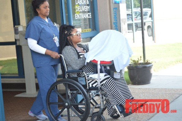 e-lhha-kirk frost-rasheeda-leave hospital after delivery-the jasmine brand