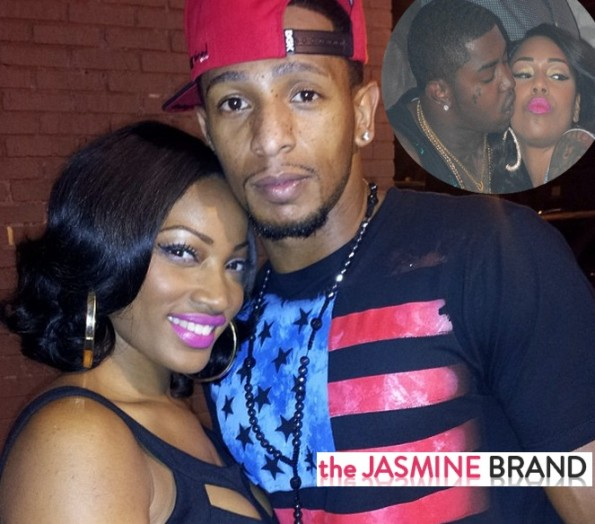 erica dixon-talks about new boyfriend-refuses to comment on scrappy and bambi-the jasmine brand