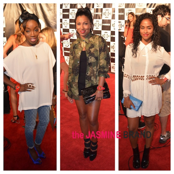 [Photos] Estelle, Melanie Fiona, Vashtie & More Celebs Spotted At G Shock Event