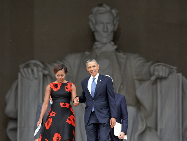 first lady michelle obama-president obama-dc 50 years dr martin luther king dream speech-the jasmine brand