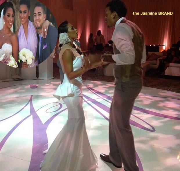 [Photos] Basketball Wives of LA's Gloria Govan & NBA Baller Matt Barnes Get Hitched Again