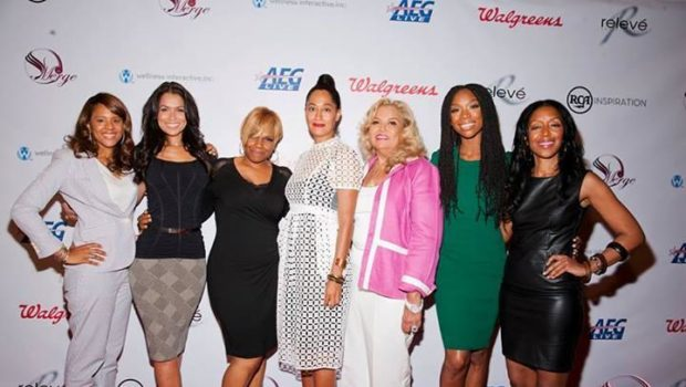 Hollywood Meets Holiness At Merge Summit: Brandy, Tracee Ellis Ross & Michelle Williams Spotted