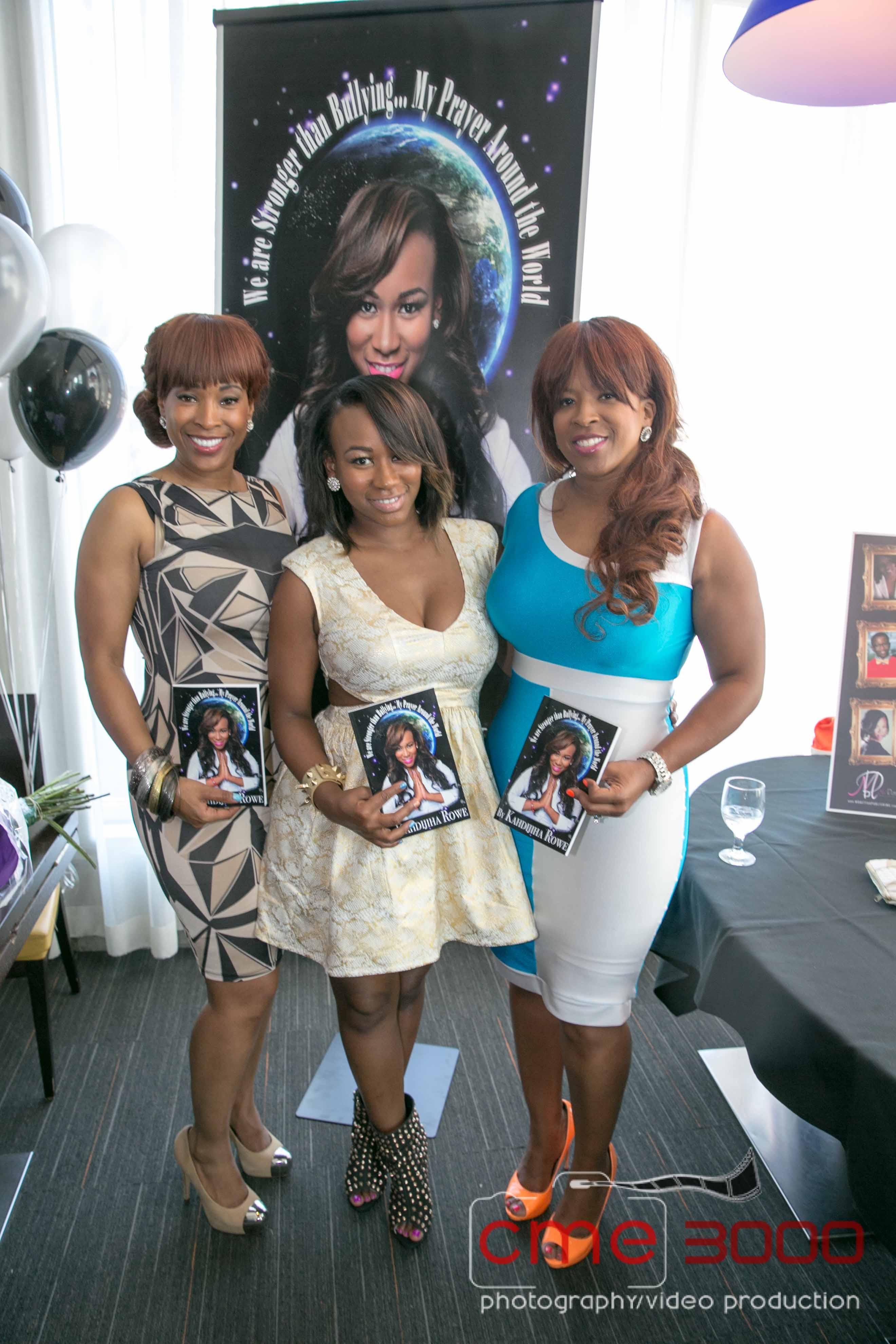 i-big rich atlanta-Kahdijiha Rowe-LIL Q Book Signing-the jasmine brand