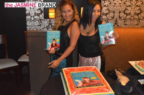 jeannie mai-adrienne bailon-the real-loni love-book launch-the jasmine brand