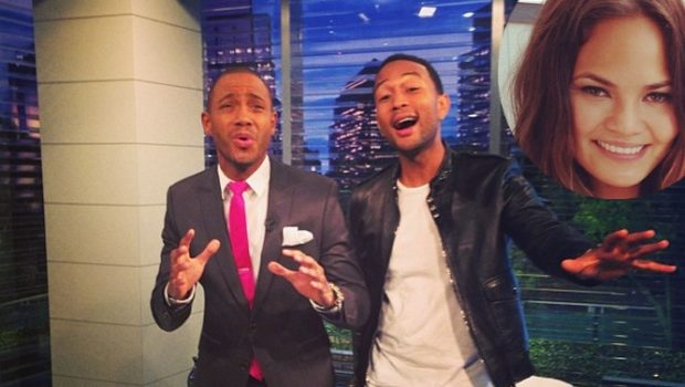 [VIDEO] The Perfect Present: John Legend's Fiance Sent Him A Stripper For His Bachelor Party
