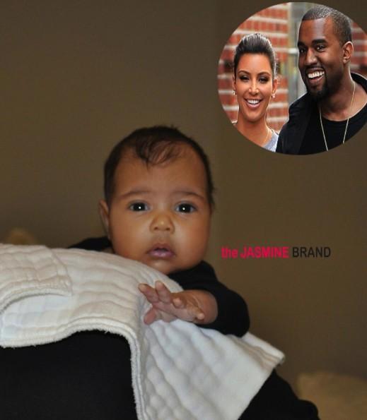 kanye west-kim kardashian baby-northwest-the jasmine brand