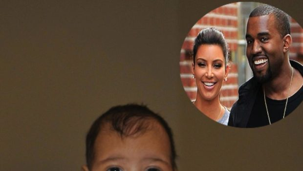 Look! Kris Jenner Unveils Her Grandaughter, North West, on Twitter