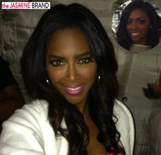 [WATCH] Off-Season-Antics: RHOA's Kenya Moore Takes Shots At Porsha Stewart + Sidesteps Rumors of New Atlanta Housewife