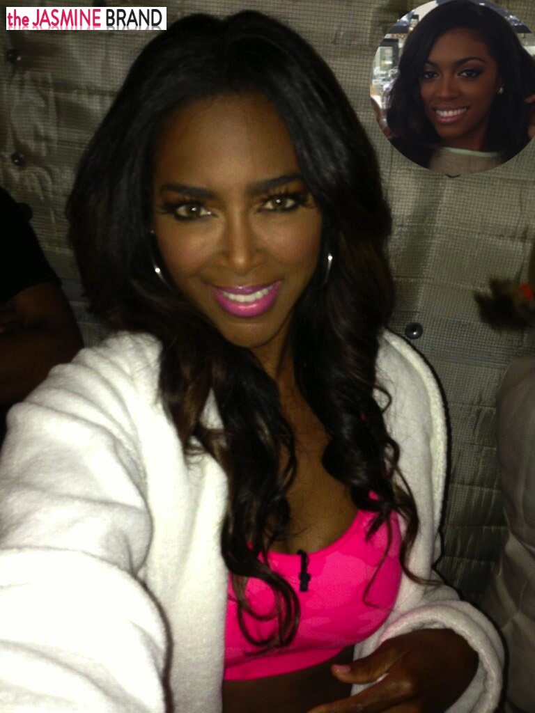 kenya moore-takes shots at porsha stewarts hairline-rhoa-the jasmine brand