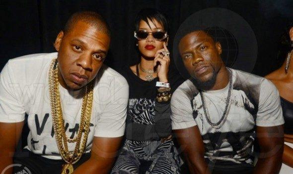 [Photos] Rihanna Hits the Club With Jay Z, Kevin Hart & Timbaland