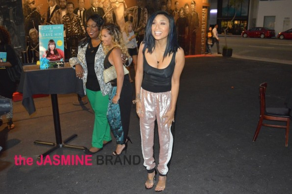 loni love-adrienne bailon-jeannie mai-candid-book launch-the jasmine brand