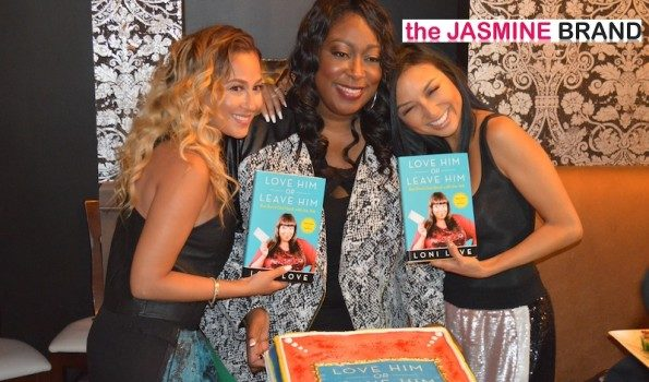 [Photos] The Real's Loni Love Celebrates Book Launch Party With Adrienne Bailon, Jeannie Mai & Yvette Nicole Brown