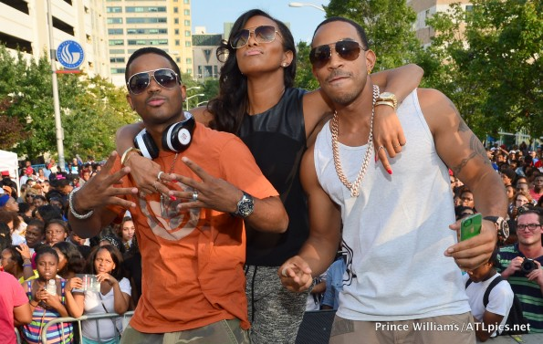 ludacris performs-letoya luckett-larenz tate-luda day weekend 2013-the jasmine brand