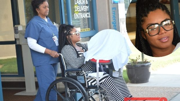 [Photos] First Look! LHHA's Rasheeda & Kirk Frost Leave Hospital With New Baby Boy
