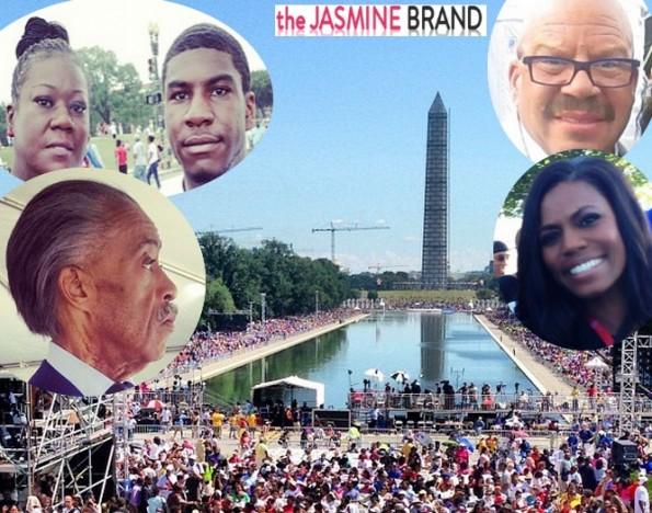 march on washington-50th anniversary-trayvon martin family-the jasmine brand