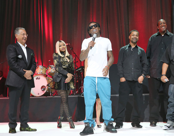 nicki minaj-lil wayne-bmi hip hop awards 2013-the jasmine brand