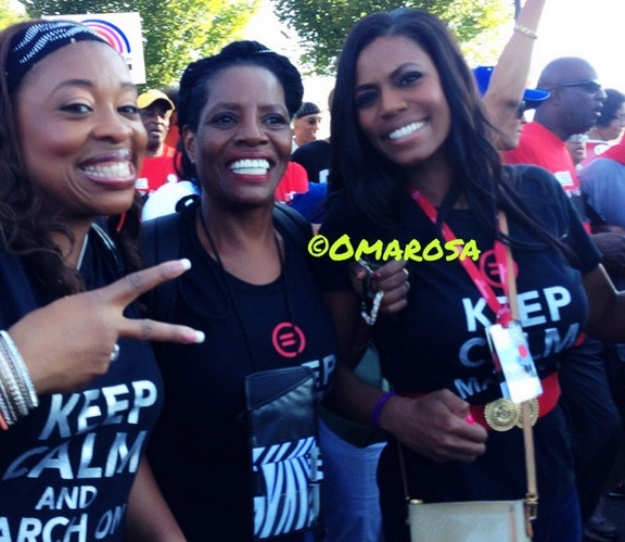 omarosa-march on washington-50th anniversary-the jasmine brand