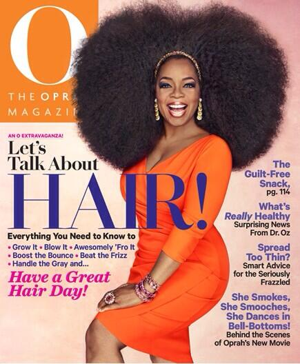 oprah winfrey-hair issue-own magazine-the jasmine brand