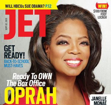 Oprah Covers JET + Jamie Foxx Understands Why Kerry Washington Secretly Jumped The Broom