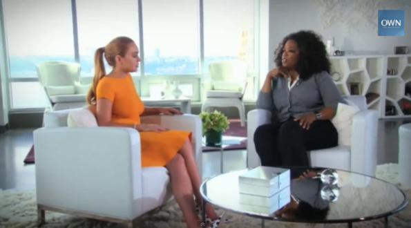 [WATCH] Oprah Goes Straight For the Jugular, Asks Lindsay Lohan: Are You An Addict?