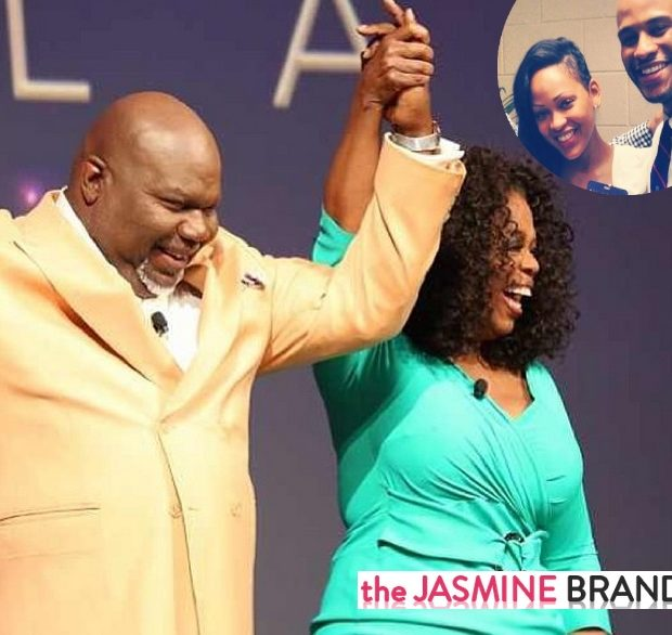 [Photos] Who's Your Daddy? Oprah Winfrey & Bishop TD Tackle Being Fatherless @ MegaFest's Life Class + Meagan Good, Deion Sanders & Other Celebs Spotted