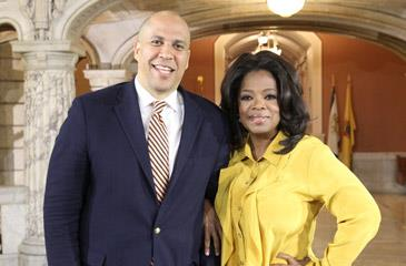 oprah winfrey-throws cory booker fundraiser-the jasmine brand