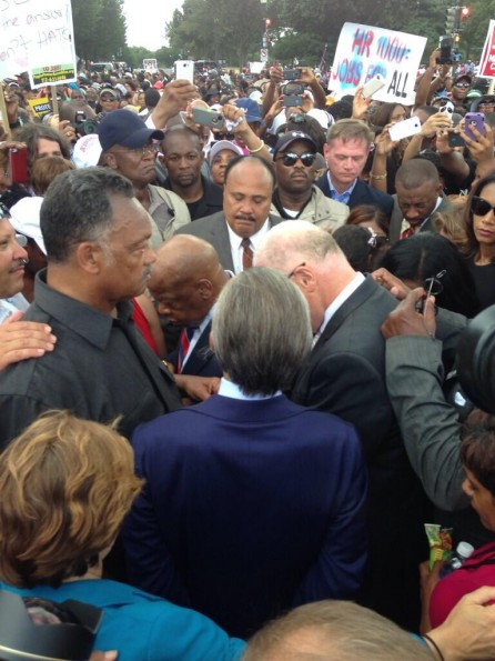 prayer-march on washington 50th anniversary-the jasmine brand