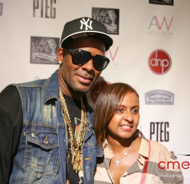 [Photos] Greg & NeNe Leakes, Cynthia Bailey & R.Kelly Spotted @ ATL Live At the Park
