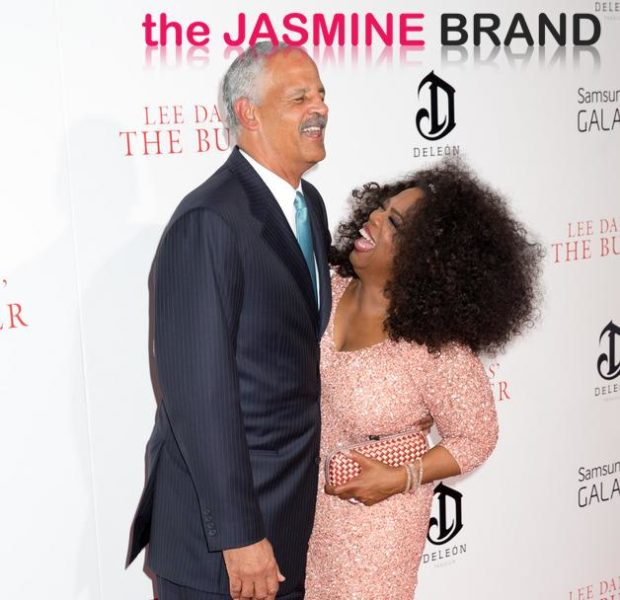 Oprah Winfrey Brings Big Hair And Stedman to 'The Butler' Premiere + Fantasia, Tika Sumpter & Mariah Carey Stun for Red Carpet