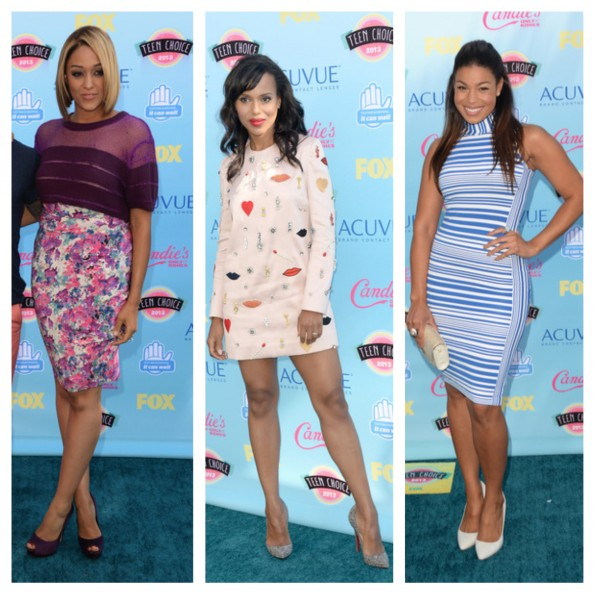 tamare mowry-kerry washington-jordin sparks-teen choice awards 2013-the jasmine brand