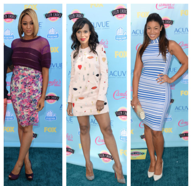 Red Carpet Round-Up! Kerry Washington Tamera Mowry & Miguel Shine At 'Teen Choice Awards' + Jamie Foxx, Bobby Brown & Shaquille O'Neal Hit Annual Harold Carol Pump Foundation
