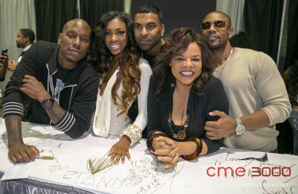 tgt-porsha stewart-jamie foster brown-bronners hair show 2013-the jasmine brand
