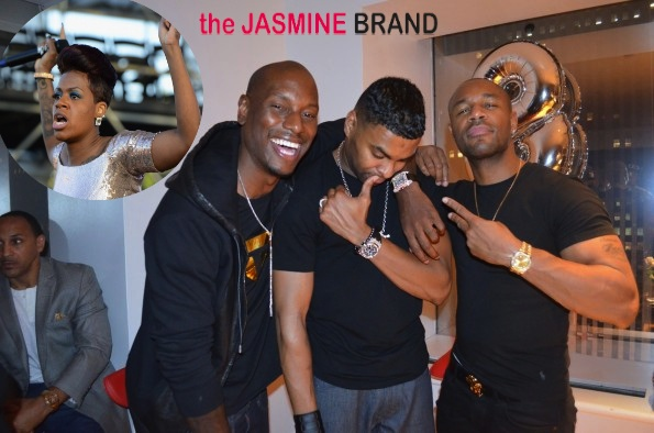 [AUDIO] Tyrese, Ginuwine & Tank (TGT) Respond to Fantasia Blasting Them In Concert: 'She Was Sold Lies!'