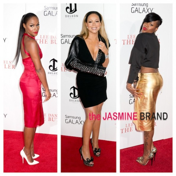 the butler premiere-tika sumpter-mariah carey-fantasia-the jasmine brand