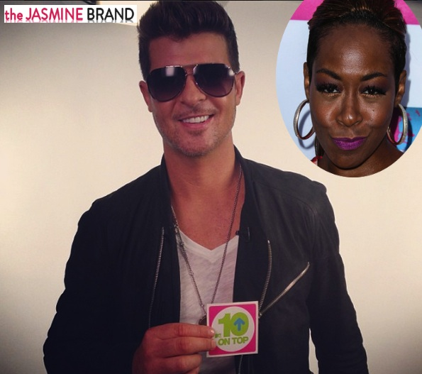 Tichina Arnold Says Robin Thicke Was Wrong For Suing Marvin Gaye's Family: He Should Have Done the Right Thing From The Start