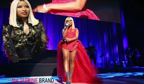 [VIDEO] Dope or Disastrous? Trina Pays Homage to Nicki Minaj @ BMI + Toni Braxton Laughs Off Wardrobe Malfunction