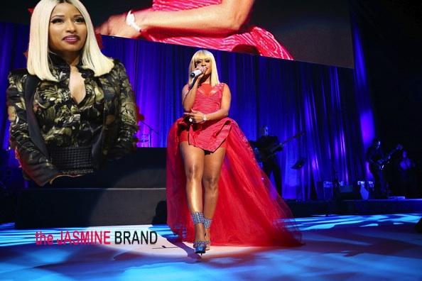 [VIDEO] Dope or Disastrous? Trina Pays Homage to Nicki Minaj @ BMI + Toni Braxton Laughs Off Wardrobe Malfunction