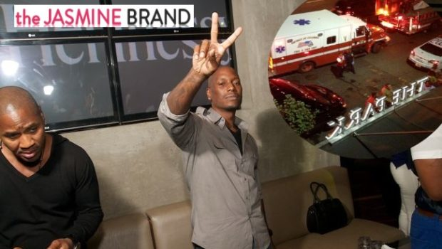 [UPDATED] Tyrese Reportedly Faints At DC Club, Hospitalized + Tank Asks for Prayers