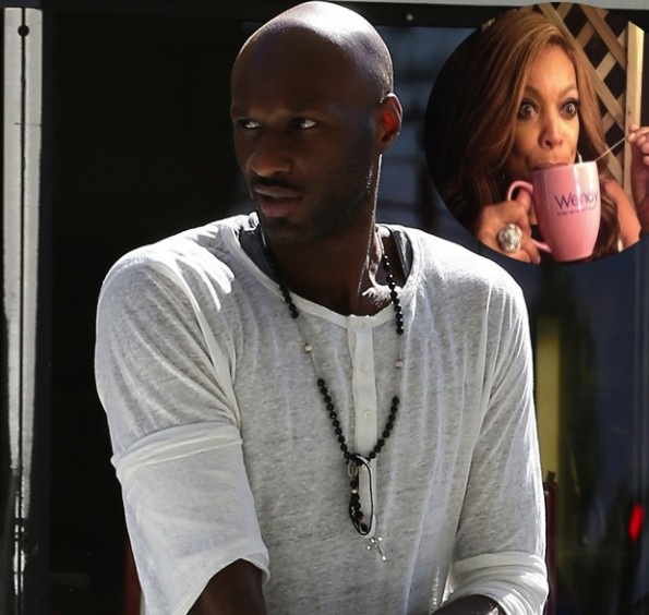 Luggage is loaded into Lamar Odom's  car amid reports of marriage split
