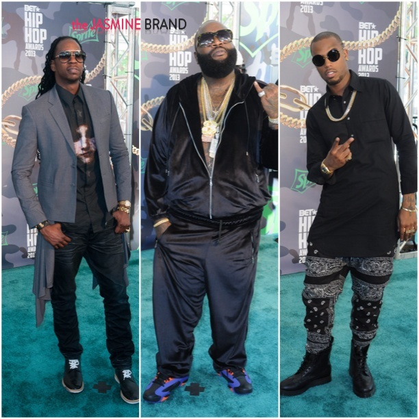 2 chainz-rick ross-bet hip hop awards 2013-the jasmine brand