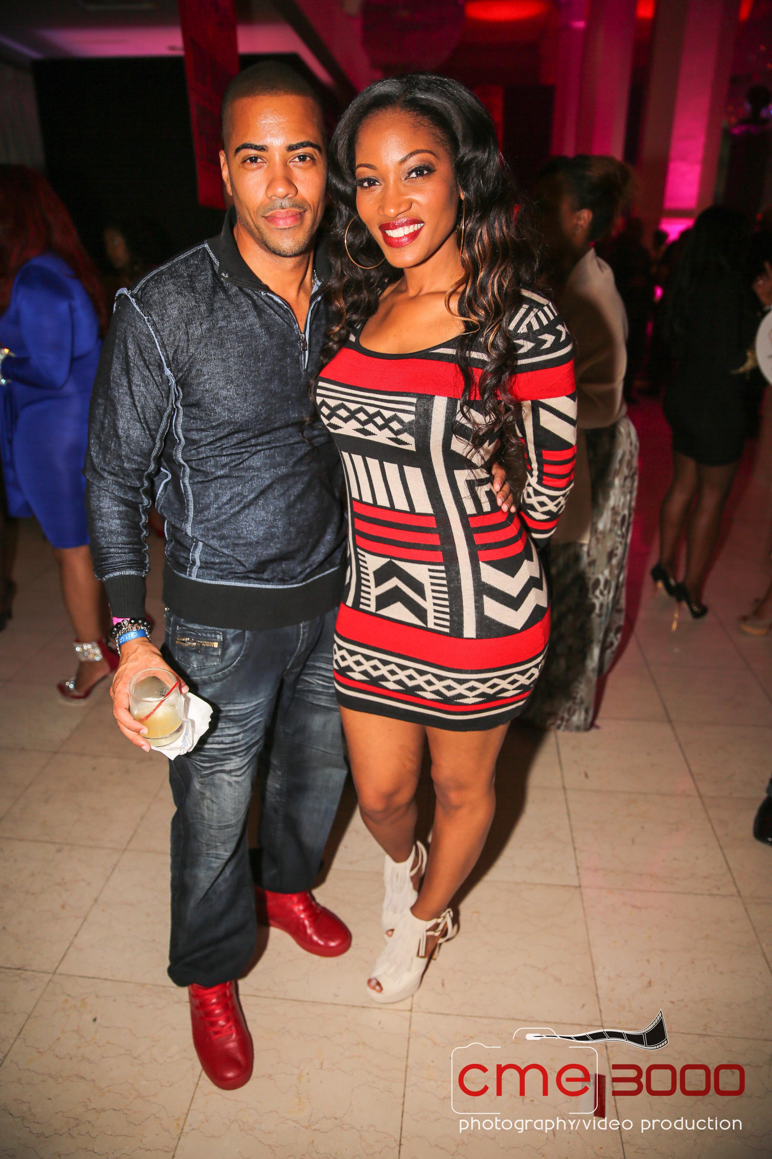 BRAD JAMES-ERICA DIXON-TI PEEP SHOP Birthday Party-BET Hip Hop Awards AFTER PARTY 2013-the jasmine brand