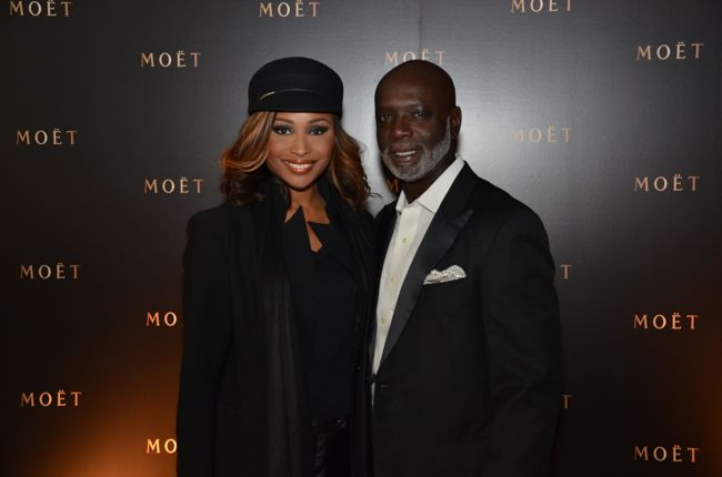 Cynthia Baily-Peter Thomas-STK Moet Dinner-BET Hip Hop Awards 2013-the jasmine brand